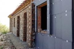 Cappotti isolamento termico e acustico con rivestimento in sasso